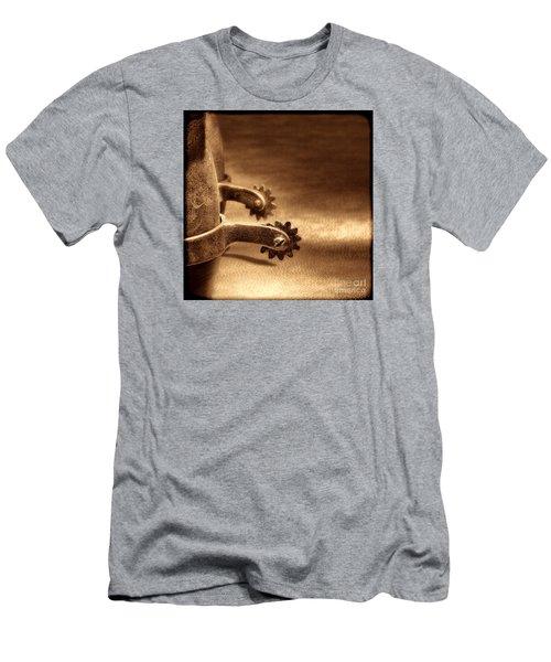 Riding Spurs Men's T-Shirt (Athletic Fit)