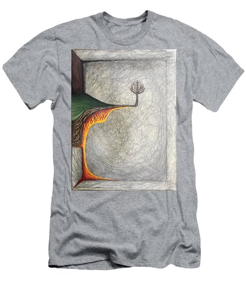 Right Universe Men's T-Shirt (Slim Fit) by Steve  Hester