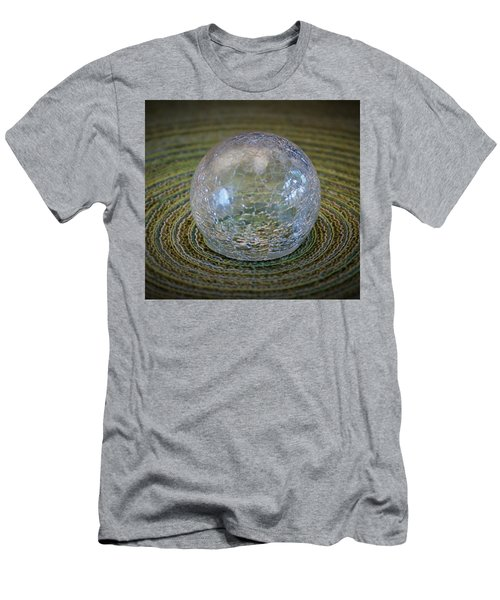 Men's T-Shirt (Slim Fit) featuring the photograph Ripple Effect by John Glass