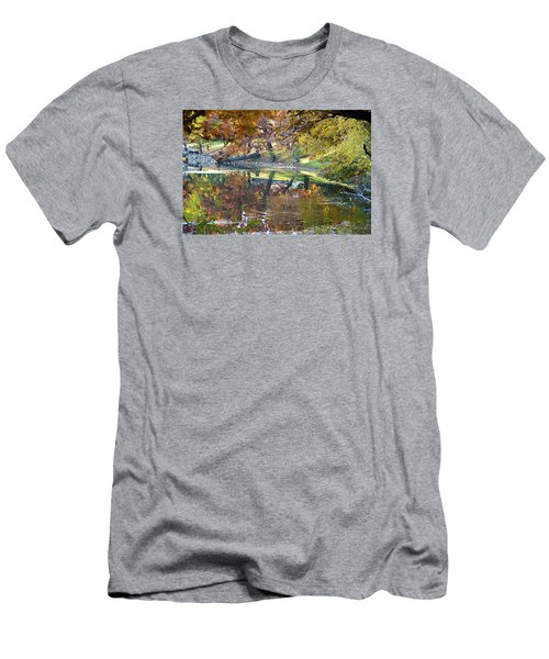 Ripples In An Autumn Lake Men's T-Shirt (Athletic Fit)
