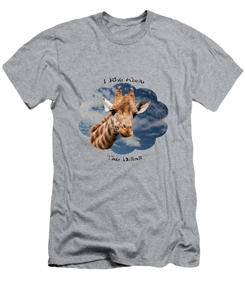 Rise Above Men's T-Shirt (Athletic Fit)