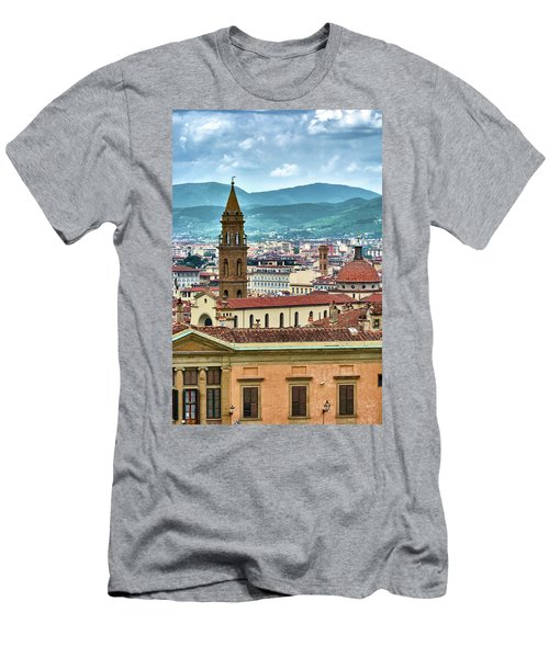 Rising Above The City Men's T-Shirt (Athletic Fit)