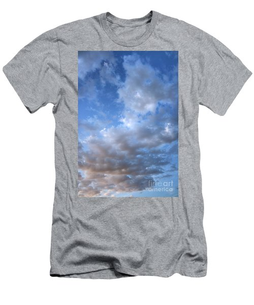 Men's T-Shirt (Slim Fit) featuring the photograph Rising Clouds by Michael Rock
