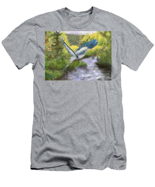 Rising Free Men's T-Shirt (Athletic Fit)