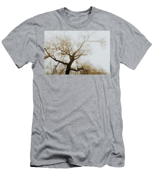 Men's T-Shirt (Slim Fit) featuring the photograph Rising by Iris Greenwell