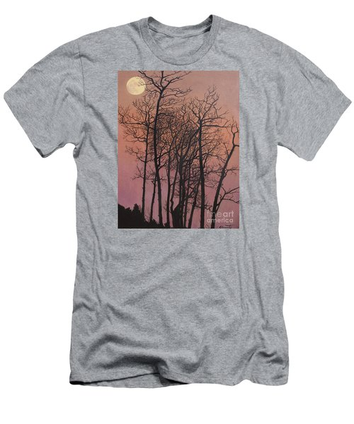 Rising Of The Moon  Men's T-Shirt (Slim Fit) by Barbara Barber