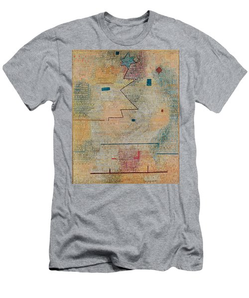 Rising Star  Men's T-Shirt (Slim Fit) by Paul Klee