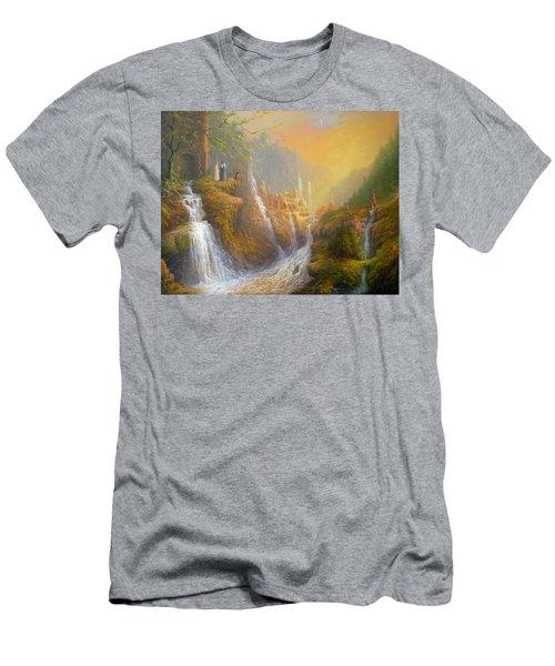 Rivendell Wisdom Of The Elves. Men's T-Shirt (Slim Fit) by Joe  Gilronan