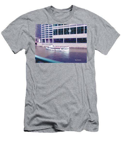River Boat Tour Men's T-Shirt (Athletic Fit)