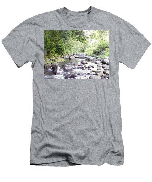 River In Adjuntas Men's T-Shirt (Athletic Fit)