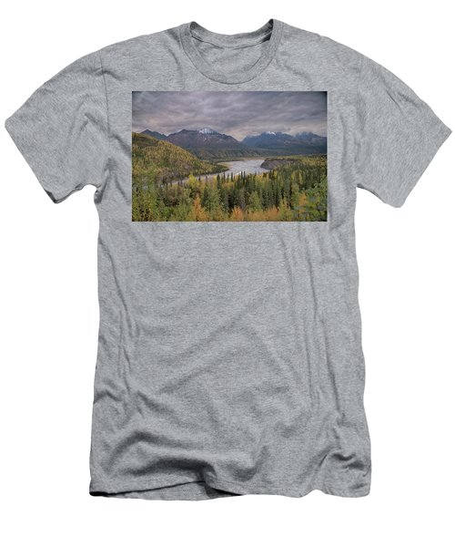 River Of Gold Men's T-Shirt (Athletic Fit)