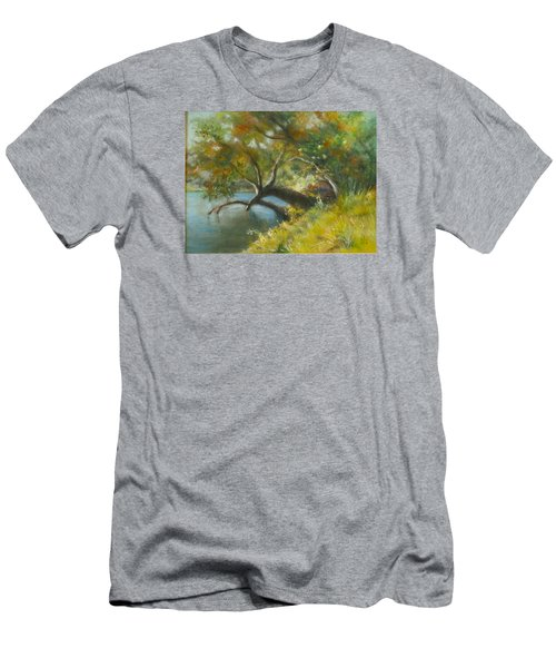 River Reverie Men's T-Shirt (Slim Fit)