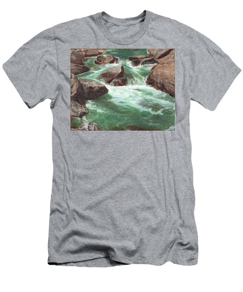 River Rocks Men's T-Shirt (Athletic Fit)