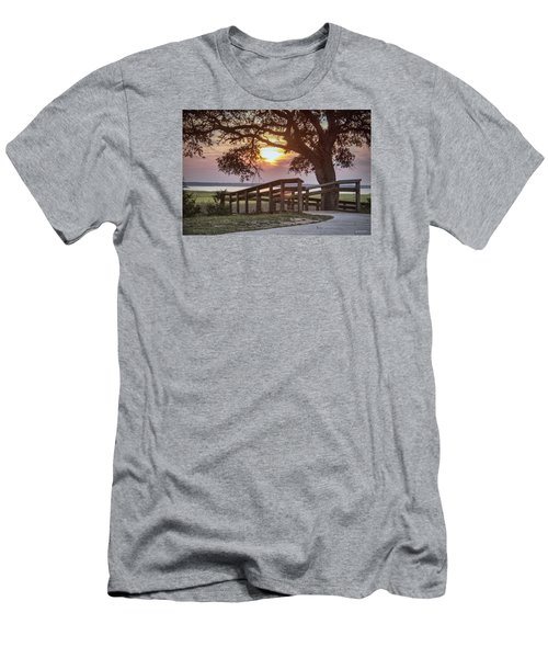 River Walk Men's T-Shirt (Athletic Fit)