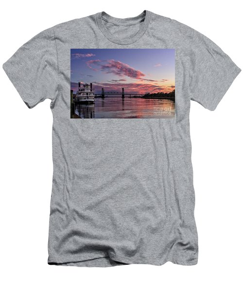 Cape Fear Riverboat Men's T-Shirt (Athletic Fit)