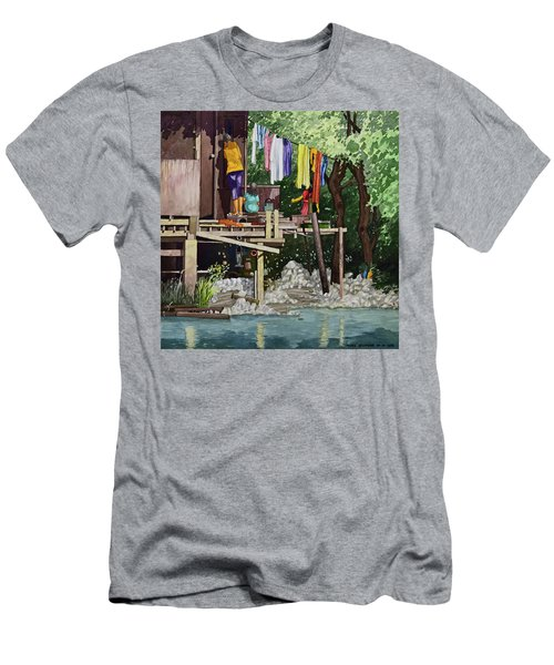 Riverside House And It's Laundry Men's T-Shirt (Athletic Fit)