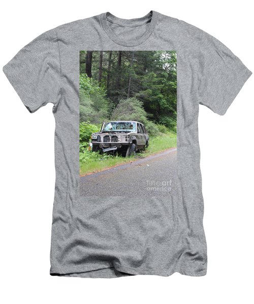 Men's T-Shirt (Athletic Fit) featuring the photograph Road Kill by Marie Neder