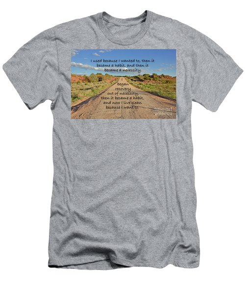 Road To Recovery Men's T-Shirt (Athletic Fit)