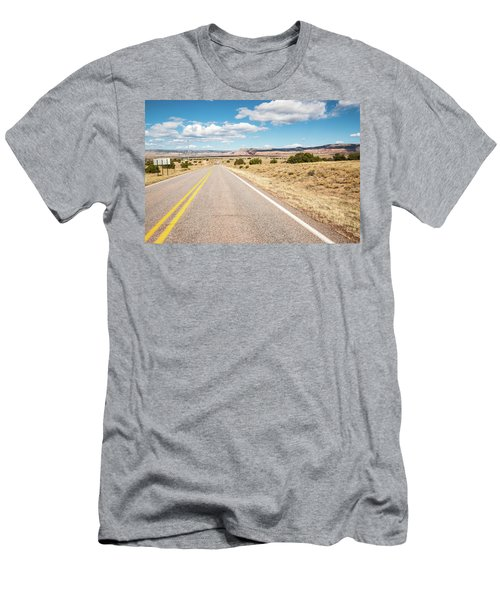 Road To San Ysidro Men's T-Shirt (Athletic Fit)