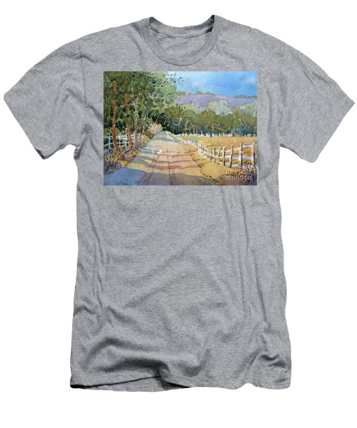 Road To The Vineyard Men's T-Shirt (Athletic Fit)