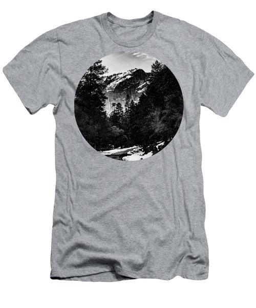 Road To Wonder, Black And White Men's T-Shirt (Slim Fit) by Adam Morsa