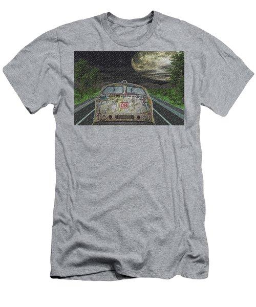 Road Trip In The Rain Men's T-Shirt (Slim Fit)