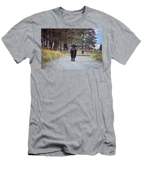 Roadblock Men's T-Shirt (Athletic Fit)