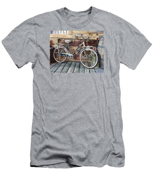 Roadmaster Bicycle Men's T-Shirt (Slim Fit) by Joey Agbayani