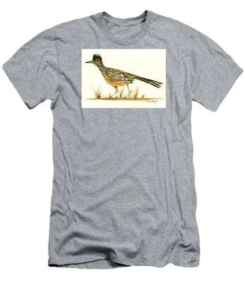 Roadrunner Bird Men's T-Shirt (Athletic Fit)