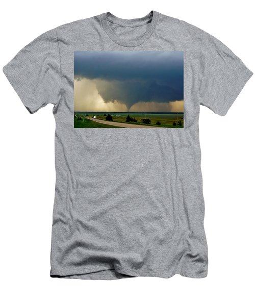 Roadside Twister Men's T-Shirt (Athletic Fit)
