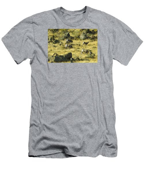 Men's T-Shirt (Slim Fit) featuring the photograph Roaming Free by Dale Stillman