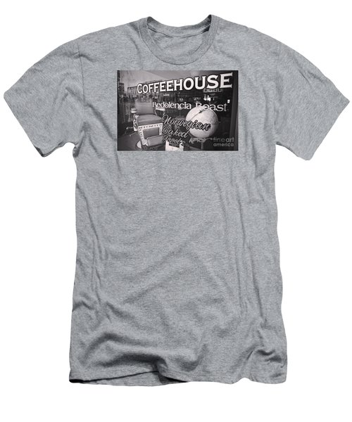 Men's T-Shirt (Slim Fit) featuring the photograph Roasted by Randall Cogle