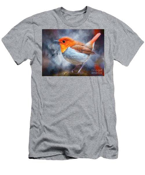 Robin I Men's T-Shirt (Athletic Fit)