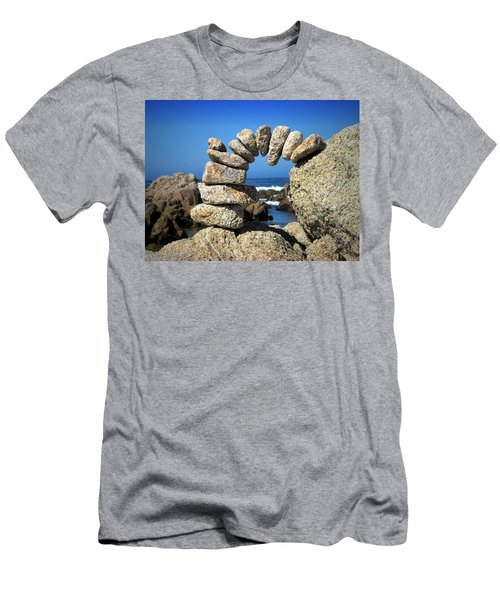 Rock Art One Men's T-Shirt (Athletic Fit)