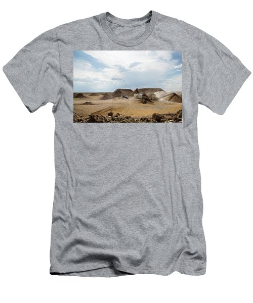 Rock Crushing 2 Men's T-Shirt (Athletic Fit)