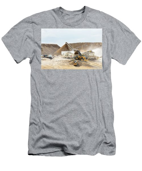 Rock Crushing 3 Men's T-Shirt (Athletic Fit)