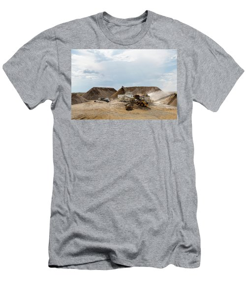 Rock Crushing Men's T-Shirt (Athletic Fit)