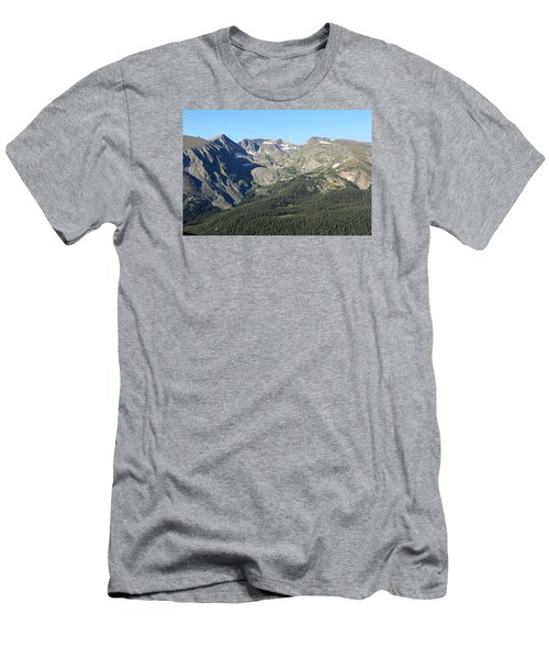 Rock Cut - Rocky Mountain National Park Men's T-Shirt (Slim Fit) by Pamela Critchlow