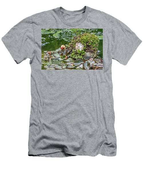 Rock Face Revisited Men's T-Shirt (Athletic Fit)