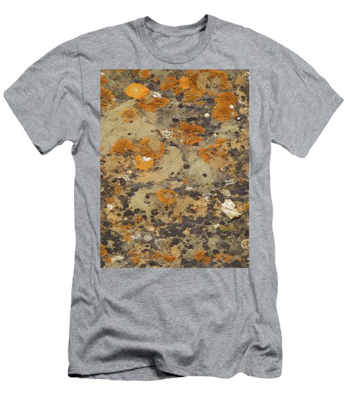 Rock Pattern Men's T-Shirt (Athletic Fit)