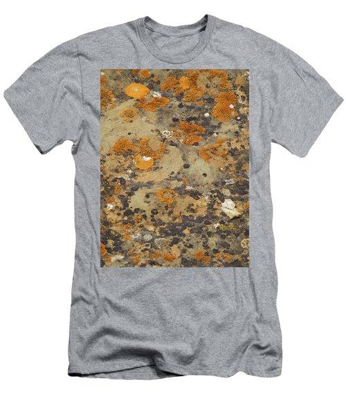 Rock Pattern Men's T-Shirt (Athletic Fit)