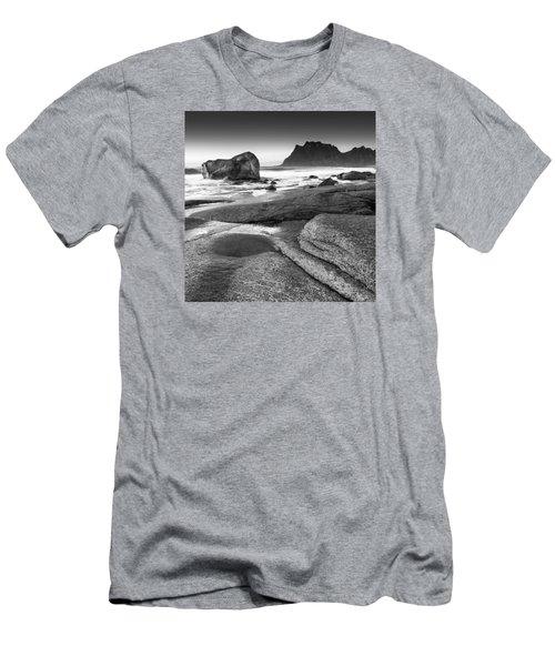 Rock Solid Men's T-Shirt (Slim Fit) by Alex Conu