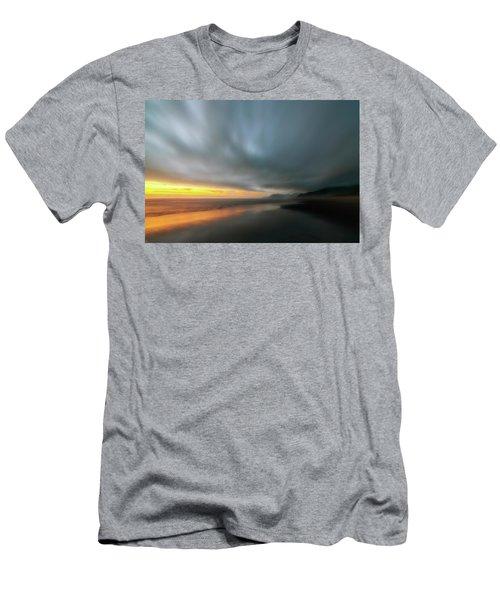 Rockaway Sunset Bliss Men's T-Shirt (Athletic Fit)