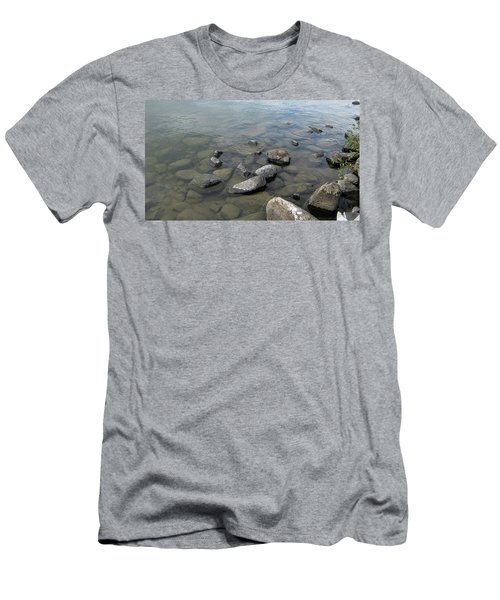 Rocks And Water Too Men's T-Shirt (Athletic Fit)
