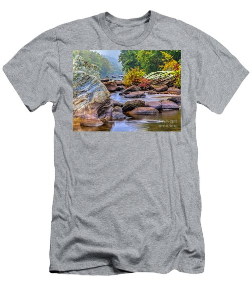 Men's T-Shirt (Slim Fit) featuring the photograph Rockscape by Tom Cameron
