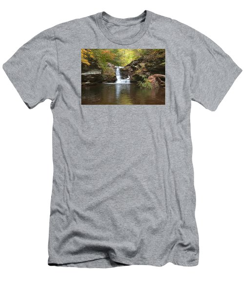 Men's T-Shirt (Slim Fit) featuring the photograph Rocktober by Gene Walls