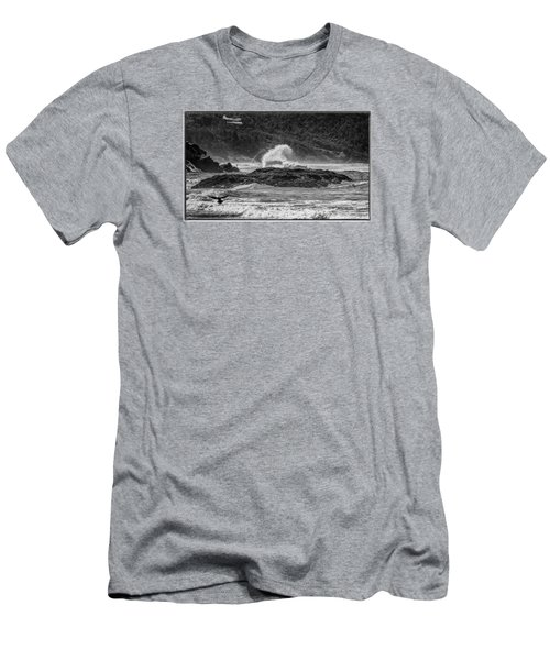 Rocky Coast Men's T-Shirt (Athletic Fit)