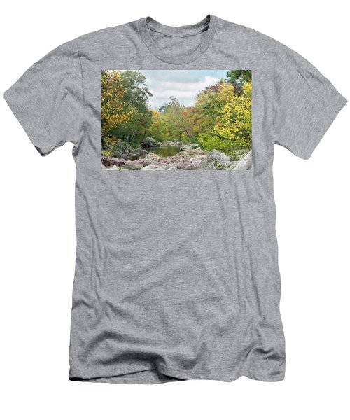 Rocky Creek Shut-ins Men's T-Shirt (Athletic Fit)