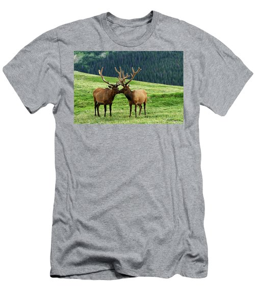Rocky Mountain Elk 2 Men's T-Shirt (Athletic Fit)