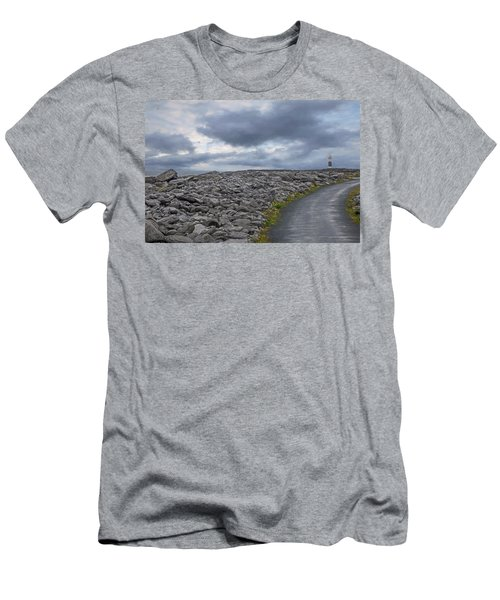 Rocky Road To The Lighthouse Men's T-Shirt (Athletic Fit)